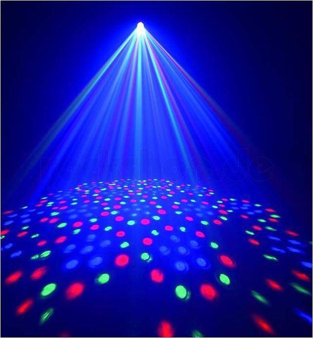 Licht-Effekt-fuer-Party-Keller-Disco-Club-DJ-Moonflower-Strahler-Disko-Flower-LED