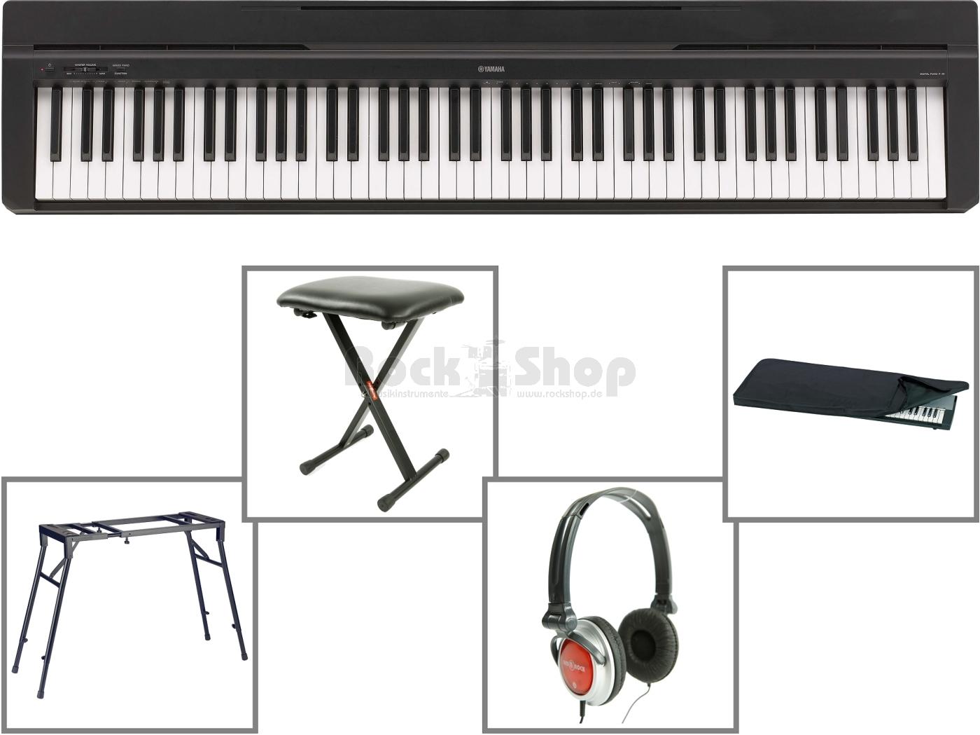 Yamaha-P35-E-Piano-P-35-Stage-Digital-Klavier-P-35-Piano-im-SUPER-MEGA-SET-NEU