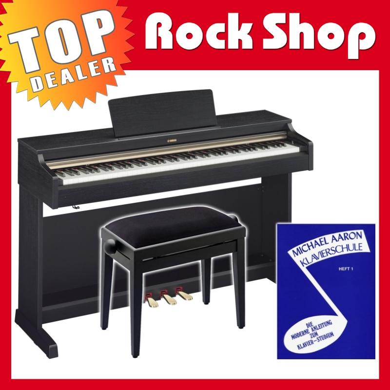 yamaha ydp 162 b arius digital e piano klavier schwarz. Black Bedroom Furniture Sets. Home Design Ideas