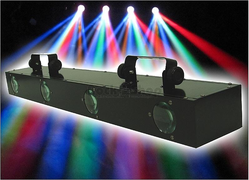 Licht-Effekt-fuer-Party-Disco-Club-Effektbar-Lichtanlage-mit-256-LED-s-SONDERDEAL
