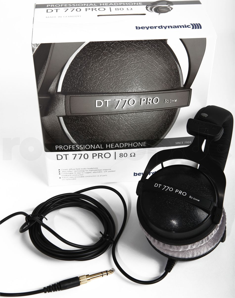 beyerdynamic dt770 pro 80 ohm profi studio kopfh rer dt. Black Bedroom Furniture Sets. Home Design Ideas