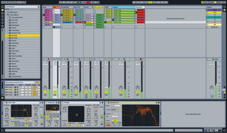 aableton live how to set intro markers