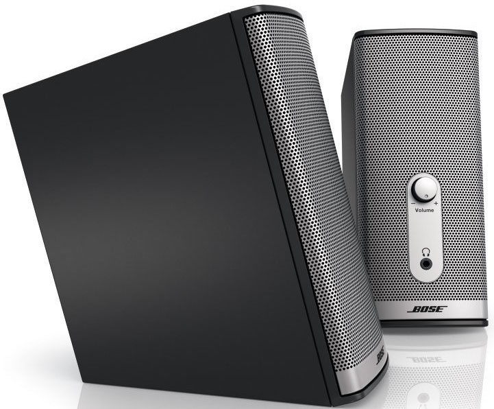 bose companion 2 ii multimedia speaker system lautsprecher boxen f r pc laptop ebay. Black Bedroom Furniture Sets. Home Design Ideas