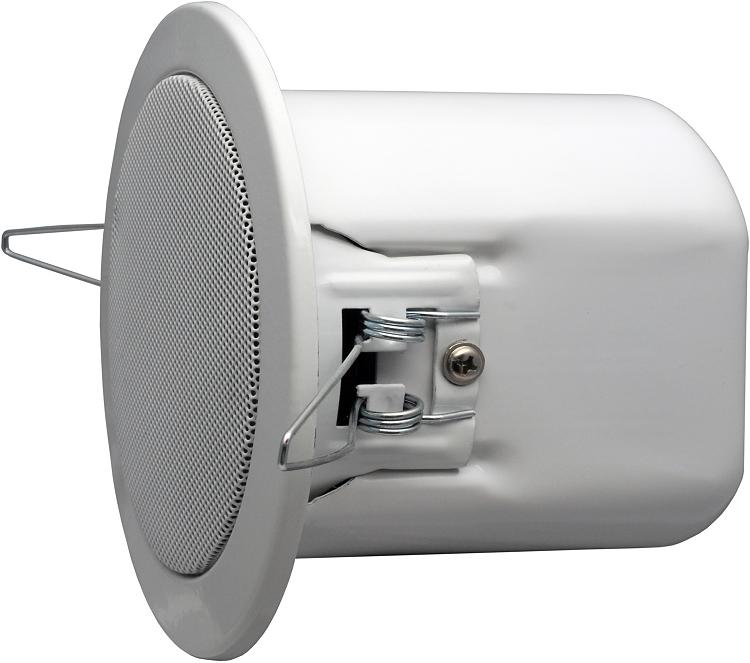 apart cm4 decken einbau lautsprecher audio box rund 15. Black Bedroom Furniture Sets. Home Design Ideas