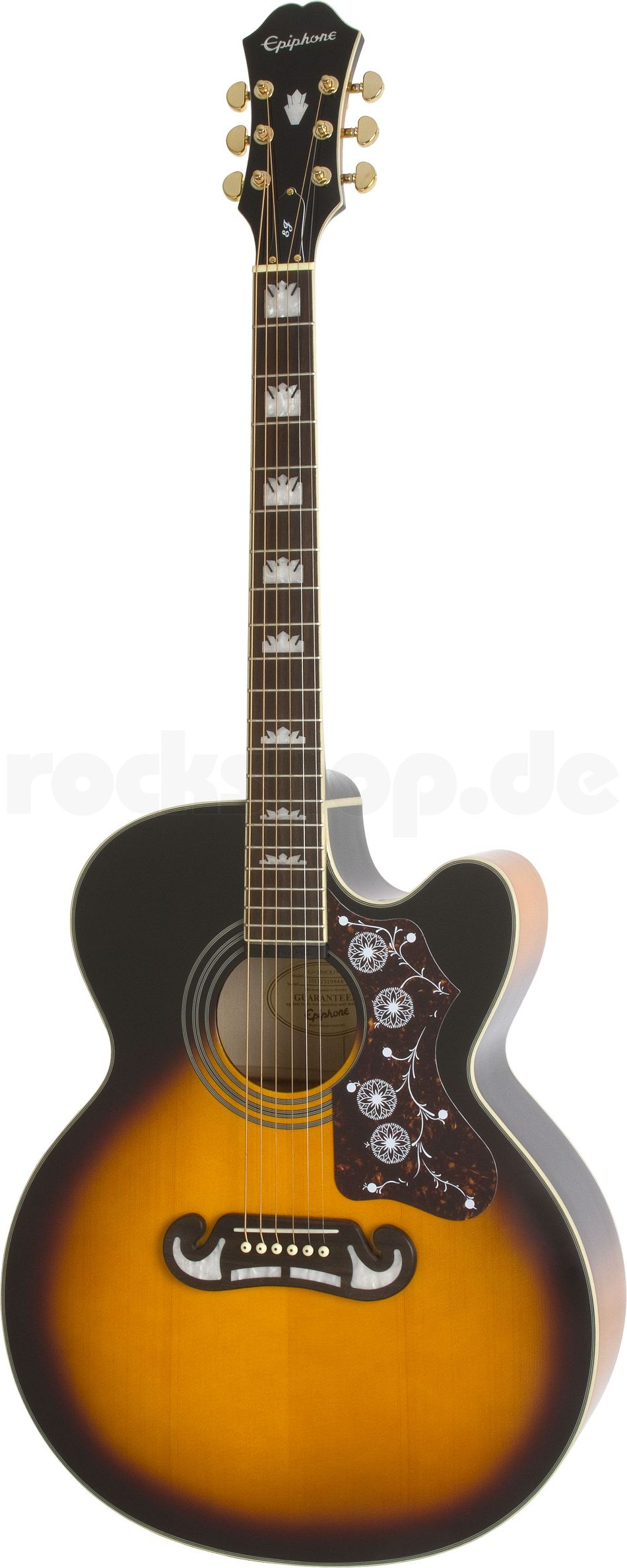 Gibson j200 Akustikgitarre Vintage Sunburst