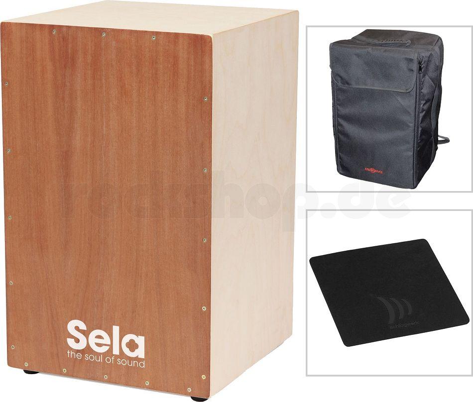 Sela Premium Cajonbausatz Cajon Bausatz Schule Cd Werkzeug Bag