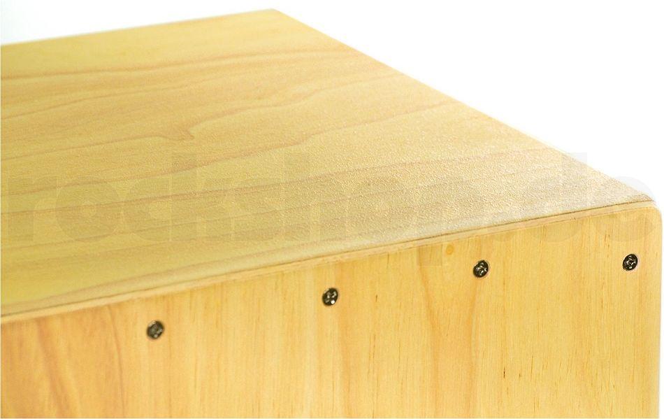 Meinl HCAJ1NT Headliner Rubber Wood Cajon Tasche SET Sitz Auflage Sitz Pad
