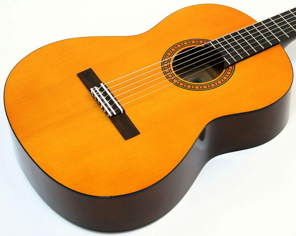 yamaha cs 40 akustik konzert gitarre natur klassikgitarre. Black Bedroom Furniture Sets. Home Design Ideas
